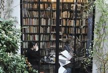 * Je t'aime ~ Libraries & Book Cases * / by Karyn G
