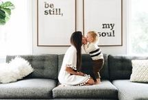 HOME DECOR / Inspiration For Home Decorating Ideas and Projects