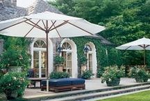Porches, Decks, Pergolas, Patios / It's all about the outside living areas / by Martha Winebarger