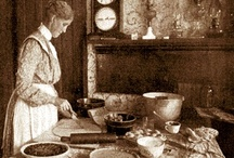 Granny's Kitchen / A warm fire, the smell of coffee and toast, baking cakes, old china cups, and fresh produce.................remind me of times in Granny's kitchen. / by Julie