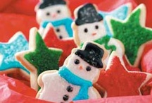 Christmas Cookies, Crackers & nuts  / Up on the housetop reindeer paws! / by Dee Kiger