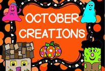 OCTOBER CREATIONS / This board is for creative ideas in the month of October.  You may post up to 3 TPT products, FREEBIES, classroom games, or creative crafts a day.  DO NOT POST more than 3 TPT at a time.  PLEASE ONLY POST OCTOBER IDEAS all others will be deleted.  Thank you!! PLEASE DO NOT ADD OTHERS TO THIS BOARD!! Email me rezolay@gmail.com if you would like to be added to this board.