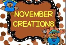 NOVEMBER CREATIONS / This board is for creative ideas in the month of November.  You may post up to 3 TPT products, FREEBIES, classroom games, or creative crafts a day.  DO NOT POST more than 3 TPT at a time.  PLEASE ONLY POST NOVEMBER IDEAS all others will be deleted.  Thank you!! PLEASE DO NOT ADD OTHERS TO THIS BOARD!! Email me rezolay@gmail.com if you would like to be added to this board.
