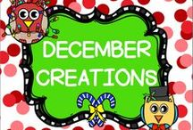 DECEMBER CREATIONS / This board is for creative ideas in the month of December.  You may post up to 3 TPT products, FREEBIES, classroom games, or creative crafts a day.  DO NOT POST more than 3 TPT at a time.  PLEASE ONLY POST DECEMBER IDEAS all others will be deleted.  Thank you!! PLEASE DO NOT ADD OTHERS TO THIS BOARD!! Email me rezolay@gmail.com if you would like to be added to this board.