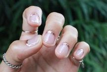 nails. / { feel it on my finger tips }