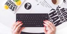 BUSINESS + BLOGGING / Blogging Tips and Ideas