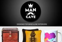 Man's Cave / Designs for Masculine Interiors