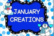 JANUARY CREATIONS / This board is for creative JANUARY IDEAS.  You may post up to 3 TPT products, FREEBIES, classroom games, or creative crafts a day.  DO NOT POST more than 3 TPT at a time.  PLEASE ONLY POST JANUARY IDEAS all others will be deleted.  Thank you!! PLEASE DO NOT ADD OTHERS TO THIS BOARD!! Email me rezolay@gmail.com if you would like to be added to this board.