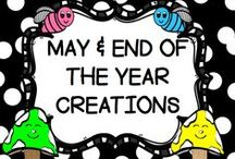 "MAY/""END OF THE YEAR"" CREATIONS / This board is for creative ""END OF THE YEAR"" IDEAS.  You may post up to 3 TPT products, FREEBIES, classroom games, or creative crafts a day.  DO NOT POST more than 3 TPT at a time.  PLEASE ONLY POST ""END OF THE YEAR"" IDEAS all others will be deleted.  Thank you!! PLEASE DO NOT ADD OTHERS TO THIS BOARD!! Email me rezolay@gmail.com if you would like to be added to this board."