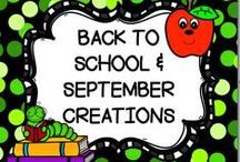 BACK TO SCHOOL & SEPTEMBER CREATIONS / This board is for creative BACK TO SCHOOL & SEPTEMBER IDEAS.  You may post up to 3 TPT products, FREEBIES, classroom games, or creative crafts a day.  DO NOT POST more than 3 TPT at a time.  PLEASE ONLY POST  BACK TO SCHOOL & SEPTEMBER IDEAS all others will be deleted.  Thank you!! PLEASE DO NOT ADD OTHERS TO THIS BOARD!! Email me rezolay@gmail.com if you would like to be added to this board.