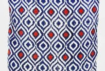 Brand New Home Accessories. Handwoven Cushion Covers in Ikat & Tile Block Prints