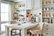 Home Decor | Home Office Ideas / Ideas for decorating the home office.