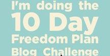 10 Day Freedom Blog Challenge / I stumbled upon Natalie Sisson's 10 Day Freedom Plan Blog Challenge by accident one day when I was browsing different sites associated with groups I am part of on Facebook. As I am still setting up my blog and pretty light on content I thought it would be a great addition and the whole idea has an amazing community feel to it. Below are links to the blogs associated with this challenge, as I do each one (albeit a bit late) they will get uploaded and appear here. Check back to get the next post.