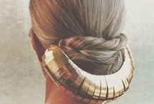 Bedazzling Hair and Accessories / From ordinary daily style to the extraordinary runway looks... / by Angelina ♥