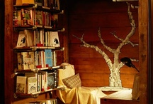 Nooks, Books and Spectacular Seating / by Evelina Noni