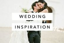 Wedding Inspiration / Photos, tips, and a lot of pretty photos from real and styled weddings, wedding photographers, and wedding planners