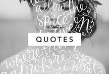 Inspirational Words / Inspirational words and quotes, graphic design, illustration