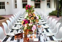 tablescape / by Janet Sherman