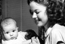 """Shirley Temple / """"When I was 14, I was the oldest I ever was. I've been getting younger ever since."""" ~Shirley Temple"""