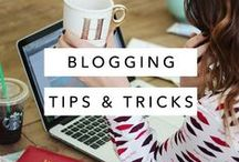 Blogging Tips & Tricks / Lots of resources for bloggers or entrepreneurs that want to learn more