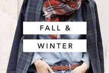 Fall / Winter / Fall and winter outfit and style inspiration