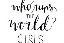 Who run the world??? GIRLS!