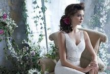 """Wedding Gowns / """"After all there is something about a wedding-gown that's prettier than any other gown in the world.""""  ~ Douglas William Jerrold"""