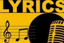 Music, Lyrics, Albums / by FritzAndre Andre