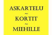 Crafts - Cards - Masculine / Kortit - Miehille