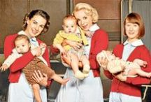 """Call The Midwife /  """"Midwifery is the very stuff of life. Every child is conceived in love or lust and born in pain, followed by joy or by tragedy and anguish. Every birth is attended by a midwife. She is in the thick of it. She sees it all."""" ~ Call The Midwife"""