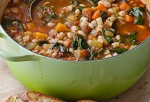 Soups, Chowders, Stews and Chili / Soups, stews and chilis / by Fran Smith