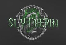 """Slytherin House / """"Or perhaps in Slytherin, You'll make your real friends, Those cunning folk use any means, To achieve their ends."""" ~The Sorting Hat"""