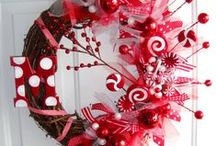 Door Decor / wreaths and what not / by Jessica Cherry