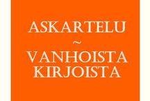 Crafts - Old books / Askartelu - Vanhat kirjat