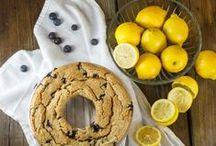 Lemon. Blueberry. / Lemon and\or Blueberry recipes / by Angelina ♥