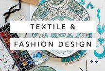Textile & Design Ideas / Print, patterns, and color palette / swatches inspiration