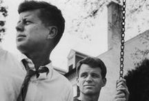 """The Kennedys / """"Life isn't a matter of milestones, but of moments."""" ~Rose Kennedy"""