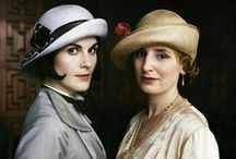 """Downton Abbey: Season 5 / """"I blame the war. Before 1914, nobody thought about anything at all."""" ~ Grand Dowager Violet Crawley"""