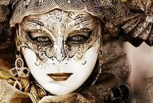 """Carnevale di Venezia / """"Venice once was dear, The pleasant place of all festivity, The revel of the earth, the masque of Italy."""" ~George Gordon Noel Byron """"Childe Harold's Pilgrimage"""""""