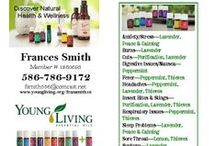 essential oils / Young Living Essential Oils Representative -- Use Member iD #1860693 to order.  www.youngliving.org/fransmith12  / by Fran Smith