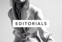 Editorials / Editorial fashion photography, models, style, posing