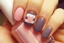 Nails, Hair, Makeup/Beauty.  / Painting nails ideas, hair ideas, make-up ideas, beauty tips