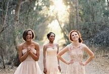 Bridesmaids / Bridesmaids style and fashion. Styles that your best girls will love. #Bridesmaids #wedding