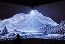 Video Installation References / 3D projection mapping and stuff