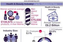 Health & Beauty Industry | Stats, Facts & Tips / by Simon Jersey | Uniforms