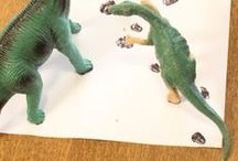Dino Love / All things dinosaur related that my son would love.