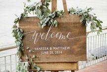 Wedding signs / Wedding signs