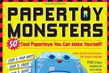 Papertoy Monsters / The amazing book of Papertoy Monsters by Castleforte