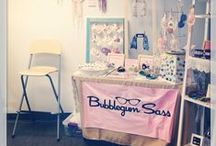 Craft Show Display Ideas / Inspiration for craft show displays, tables, booths, and signage