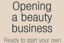 Opening A Beauty Business | Simon Jersey / We know that opening your own business is a daunting process, so we wanted to help out. Here, you will find a range of articles with advice on forecasting cash flow, finding premises, recruitment, marketing and much more. / by Simon Jersey | Uniforms